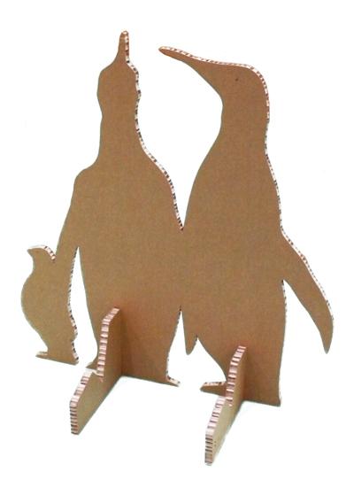 зверюшки из картона своими руками